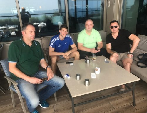 """""""Menadžerski tim kompanije Hasky Sport uz brend No1 ispratio finale Eurobakseta u Istanbulu"""""""